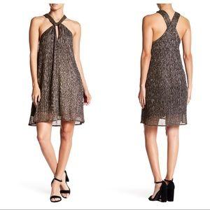 ASTR the Label Priscilla Metallic Dress